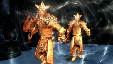 Aurorans- Mihail Monsters and Animals (SSE)(mihail immersive add-ons -oblivion daedra -meridia)