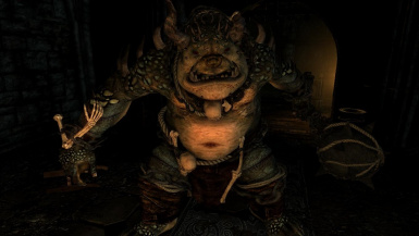 Ogrim- Mihail Monsters and Animals (SSE)(mihail immersive add-ons - eso daedra- morrowind)