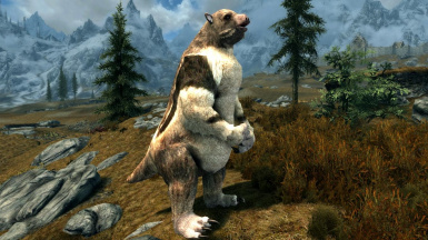 Giant Sloths and Glyptodonts- Mihail Monsters and Animals (sse)(mihail immersive add-ons- megafauna)