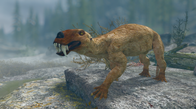 Gorgonops - Mihail Monsters and Animals(sse) (mihail immersive add-ons -megafauna)