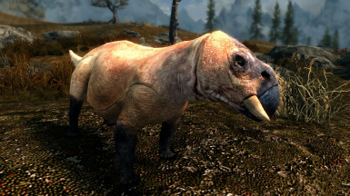 Beaked Sauroids- Mihail Monsters and Animals (sse)(mihail immerside add-ons- dinosaur- megafauna)