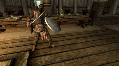 Amren will Follow you after you get his sword back.