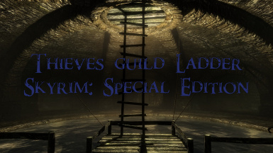 The Thieves Guild Ladder - Skyrim Special Edition