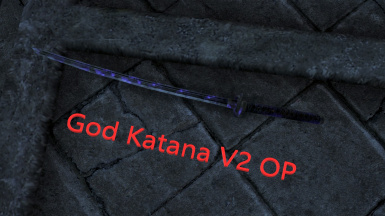 God Katana With Soul Trap(OneHit)v2