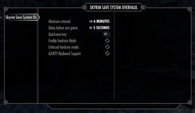Skyrim Save System Overhaul