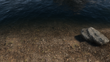 water, rock, and ground textures