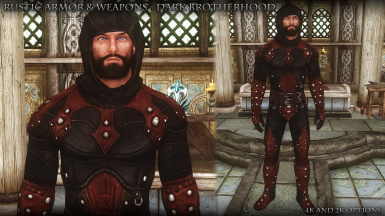 RUSTIC ARMOR and WEAPONS SE