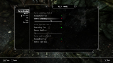 Skyrim Unlimited MCM Menu at Skyrim Special Edition Nexus - Mods and