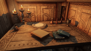 Rudy HQ Misc - Book Covers Skyrim - Rustic Furniture - Rustic Clutter Collection - Noble Skyrim - Natural and Atmospheric Tamriel - Realistic Lighting Overhaul - Photorealistic Tamriel