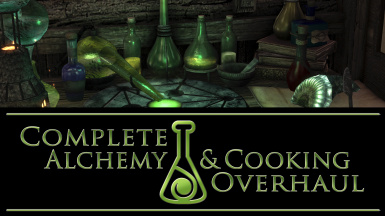Complete Alchemy and Cooking Overhaul