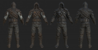 Frankly HD Thieves Guild Armors