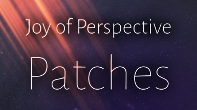 Joy of Perspective Compatibility Patches