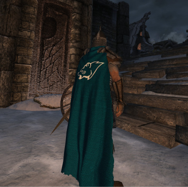 Windhelm Cloak Clean version