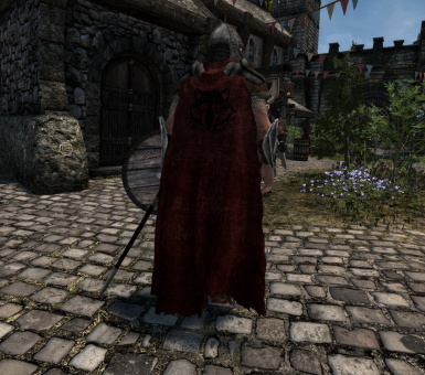 Solitude Cloak Worn version