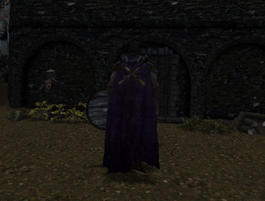 Riften Cloak Worn version