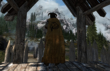 Whiterun Cloak Worn Version