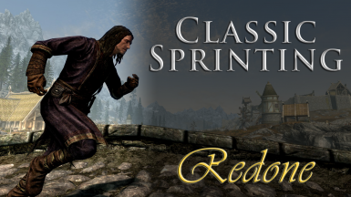 Classic Sprinting Redone (SKSE64)