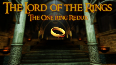 The Lord of the Rings The One Ring Redux at Skyrim Special Edition