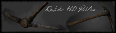 Realistic HD PickAxe Banner