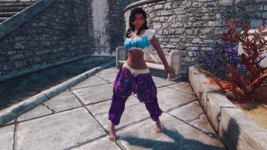 Esmeralda Standalone Follower from The Hunchback of Notre-Dame