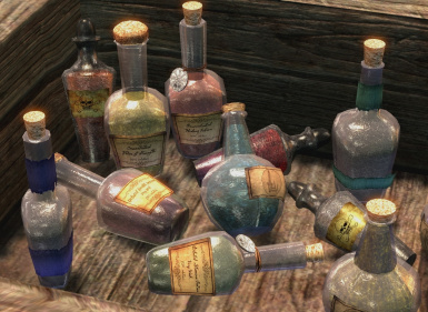 Port of Pretty Animated Potions- Small Bottles Edition