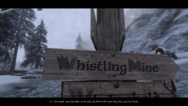 Five Cities Roadsigns - Whistling Mine Patch