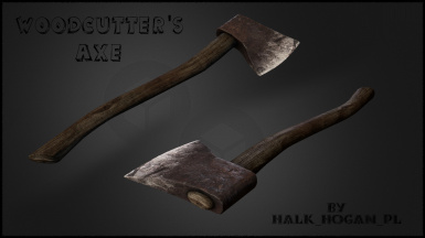 Realistic HD Woodcutter's Axe Remastered