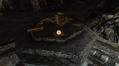 A clue for where a key might be found