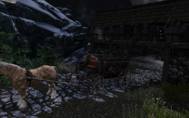 Carriage at Helgen