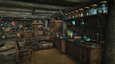 Snowstone Lodge Crafting