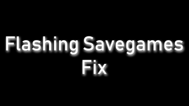 SkyUI SE - Flashing Savegames Fix