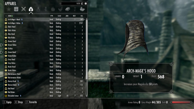 Arch-Mage's Hood