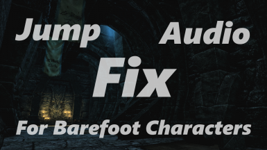 Jump audio fix for barefoot characters