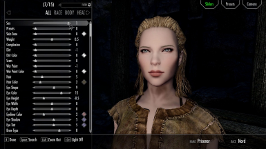 Avoid the Wait When Changing to Female in Character Creation