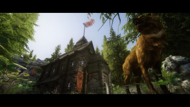 Doggy over the Chapel of Arkay
