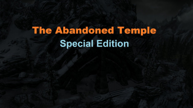 The Abandoned Temple