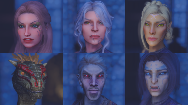 Faces of Dragon Fodder - Presets for Racemenu