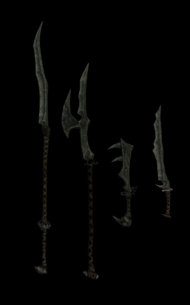 Orcish weapons
