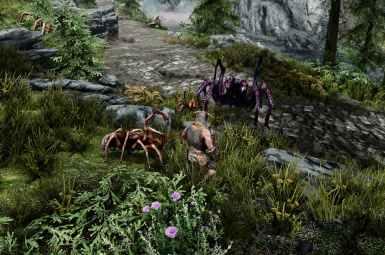 Genesis Surface Spawns patch for Skyrim Immersive Creatures 6.6a