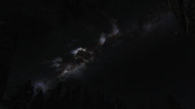 Milky Way Trough the Clouds