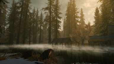 New Morning Fogs In Morthal