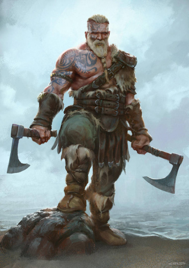 Berserker Warrior LITE for those who prefer more realism and difficulty