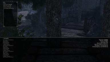 Hunting down clipping trees for The Great City of Falkreath - Lush Falkreath the hard way...