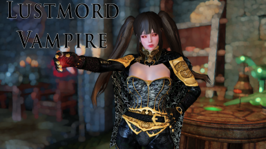 Lustmord Vampire Armour - Standalone Colours - SSE CBBE BodySlide (with Physics)