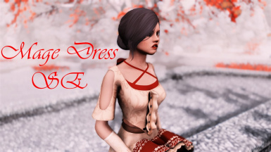 Mage Dress SE (CBBE - UNP - Physics - Bodyslide)