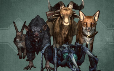Unofficial Creation Club Updates - Pets of Skyrim