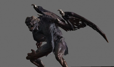 The Gargoyle of your worst nightmare that should have been in the game all along!