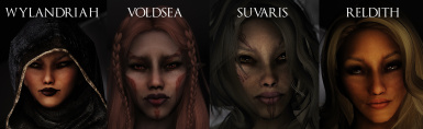 Metalsabers Elegant Elves of Skyrim