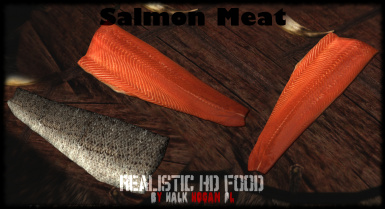 Salmon Meat in Inventory