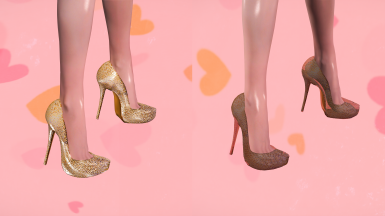 Shimmer Heels CBBE SE with NiOverride